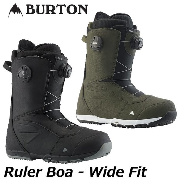 19-20 BURTON バートン  メンズ ブーツ  【Ruler Boa Wide fit 】  【日本正規品】 ship1|fleaboardshop01