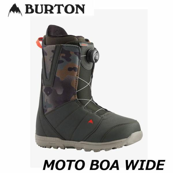 20-21 BURTON バートン  メンズ ブーツ  【MOTO BOA Wide 】  日本正規品 【返品種別OUTLET】ship1