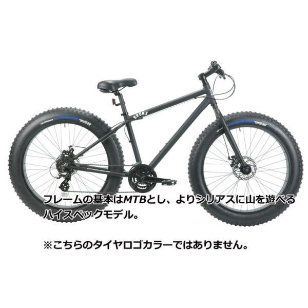 ファットバイク ブロンクス FATBIKE BRONX /BRONX TR 26inch / MATTE BLACK x BLACK/ ディスクブレーキ 26インチ/日本正規販売品/|fleaboardshop|02