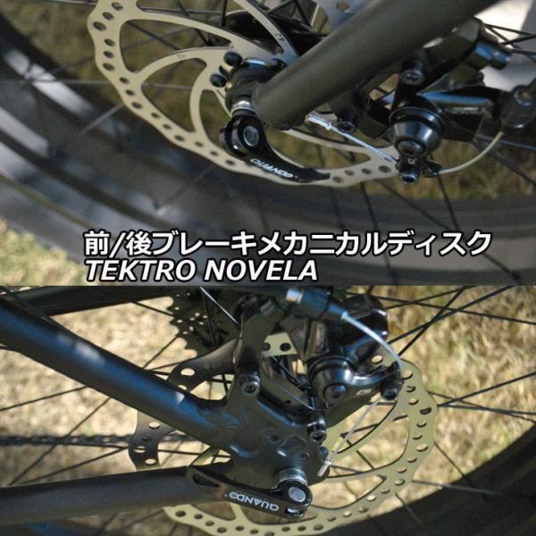 ファットバイク ブロンクス FATBIKE BRONX /BRONX TR 26inch / MATTE BLACK x BLACK/ ディスクブレーキ 26インチ/日本正規販売品/|fleaboardshop|04