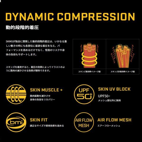 スキンズ メンズ ロングスリーブ  skins A200 DNAMIC CORE メンズ ロングスリーブトップ   コンプレッション【正規品】DA05059033|fleaboardshop|05