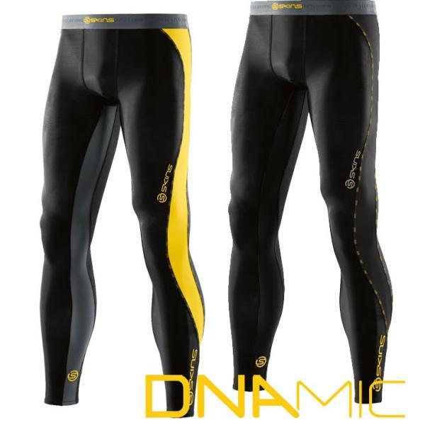 SKINS スキンズ メンズ ロングタイツ  A200 DNAMIC CORE  メンズ ロングタイツ  コンプレッション 【正規品】|fleaboardshop