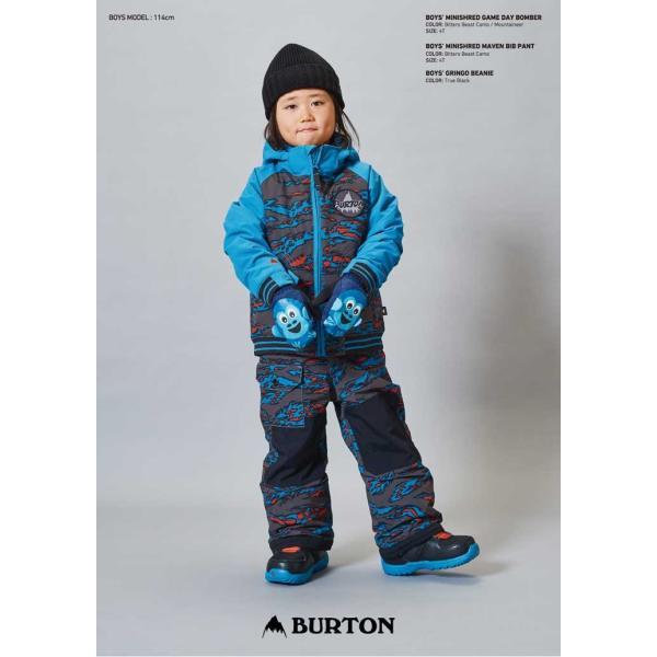 17-18 BURTON バートン KIDS SNOW WEAR 子供 キッズ スノー ウエアー ジャケット Boys' Minishred Game Day Jacket /2-7才/幼児向け 【返品種別SALE】|fleaboardshop|02