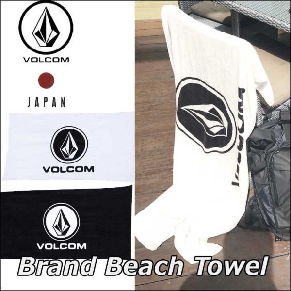 volcom ボルコム JapanLimited タオル メンズ  Brand Beach Towel ビーチタオル VOLCOM ヴォルコム 【返品種別SALE】|fleaboardshop
