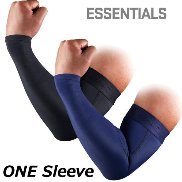SKINS スキンズ アームカバー ESSENTIALS エッセンシャルユニセックス ONE Sleeve ワンスリーブ 片腕用 「メール便可」 fleaboardshop
