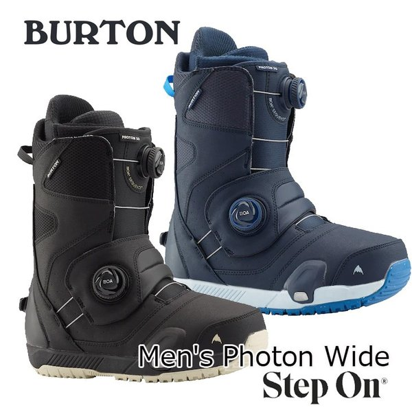 19-20 BURTON バートン ステップオン ブーツ  Mens メンズ Photon Wide Step On Snowboard Boot  【日本正規品】【返品種別OUTLET】 ship1|fleaboardshop