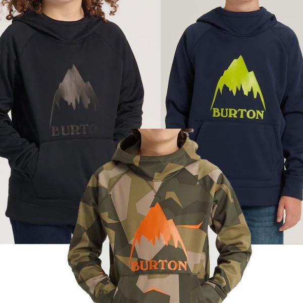 19-20 BURTON バートン キッズ 撥水 パーカー  Boys 【Burton Crown Bonded Pullover Hoodie 】(110/126/140/150/164) 日本正規品|fleaboardshop|03
