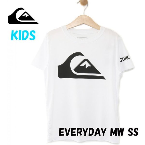 Quiksilver クイックシルバー キッズ ラッシュT  キッズ UPF50+ ラッシュ Tシャツ EVERYDAY MW SS (100-160)【KLY191102】 fleaboardshop