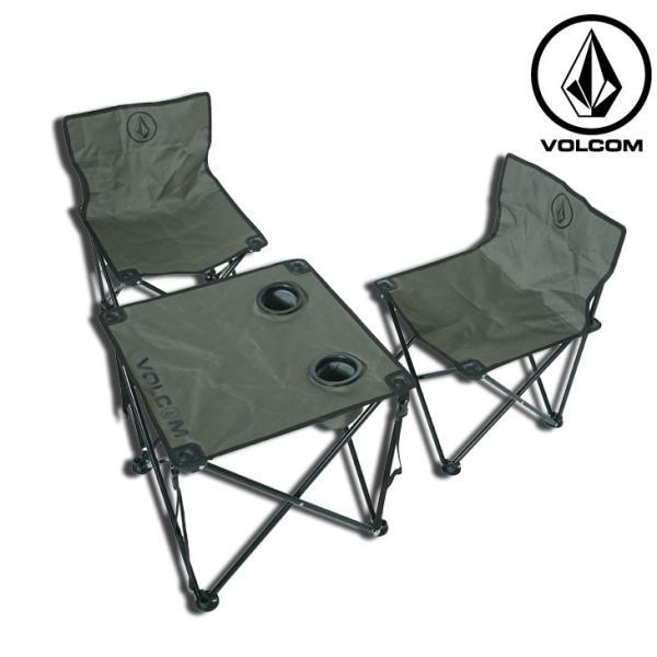 volcom ボルコム ビーチチェアーセット  Circle Stone Beach Chair Set  japan D67119JA fleaboardshop