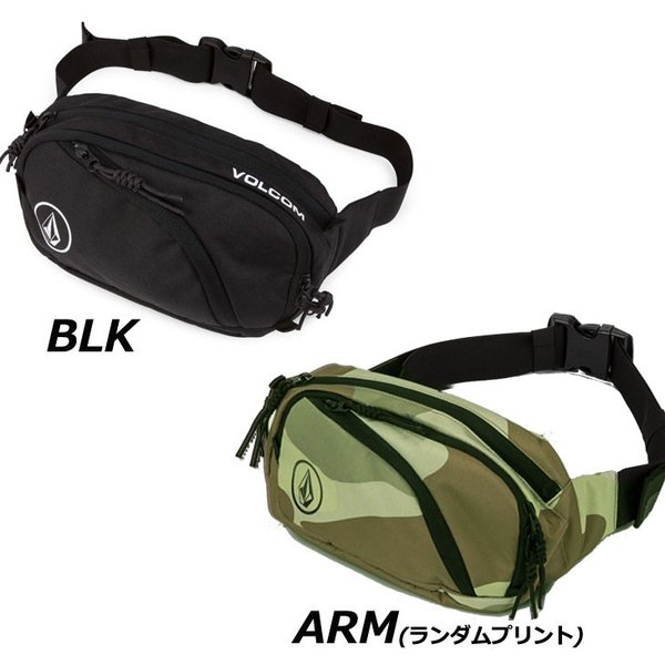 volcom ボルコム ウエストバッグ  Waisted Fanny Pack  D6511650|fleaboardshop|02