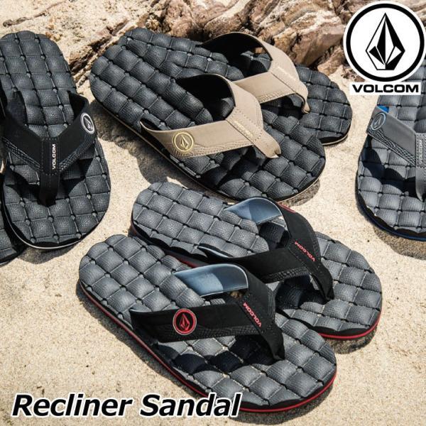 volcom ボルコム メンズ ビーチサンダル  Recliner Sandal  V0811520|fleaboardshop