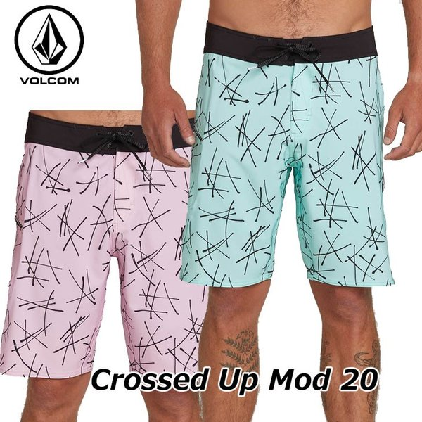 volcom ボルコム サーフパンツ Crossed Up Mod 20 メンズ 海パン  A0821913【返品種別OUTLET】