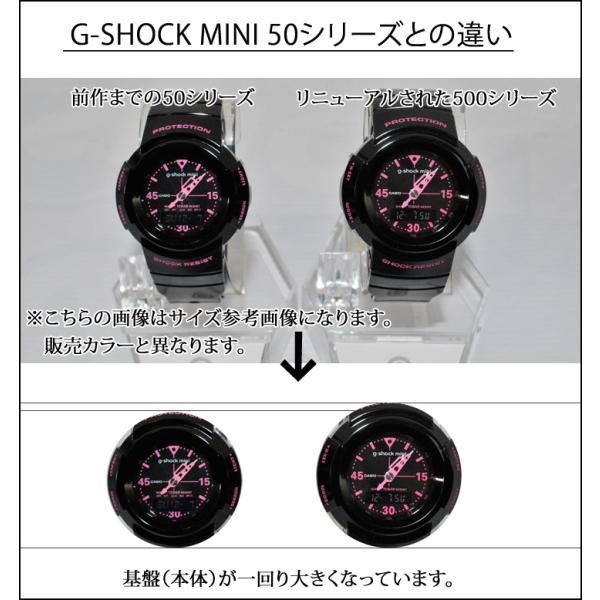 G-SHOCK mini g-shock mini Gショック ミニ GMN-500-7BJR カラー WHITE  日本正規品|fleaboardshop|03