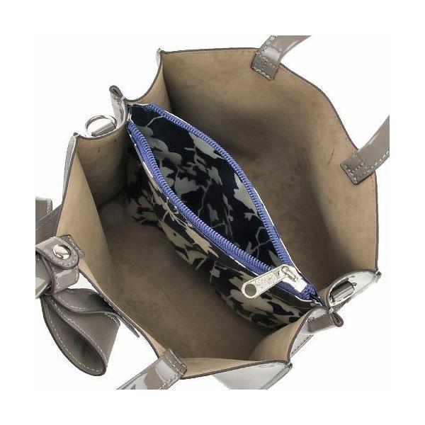 エナメル ミニ ショルダーバッグ 2WAY ワンカラー リボン付 エレガント 高級 ハンドバッグ レディースバック|fleur-de-camelia2|04