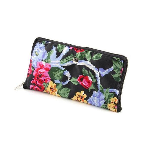 リュック 軽量 大容量 折りたたみ 花柄 コンパクト プチプラ 旅行 トラベル レジャー アウトドア 買い物 メール便可|fleur-de-camelia2|09