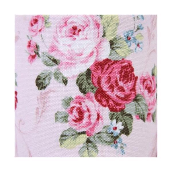 高級スリッパ リーフローズ柄 日本製 来客用 吊込式つま先なし パンセアラローズ 薔薇インテリア小物 エレガント雑貨日用品 fleur-de-camelia2 03