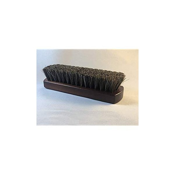 3glad 馬毛ブラシ 100%天然馬毛 靴磨きブラシ シューズブラシ レザーケア 革製品のお手入れ等