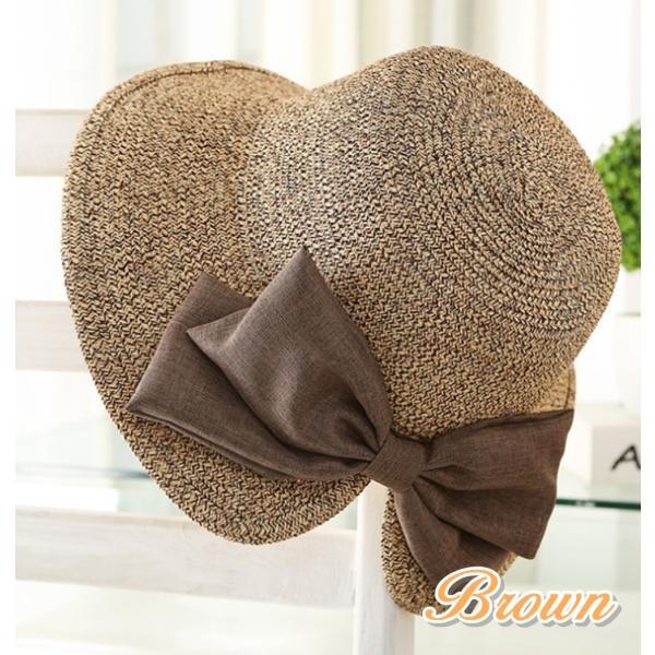 【SALE】麦わら帽子 ハット 折りたたみ 帽子 ストローハット UVカット レディース flexgear 03