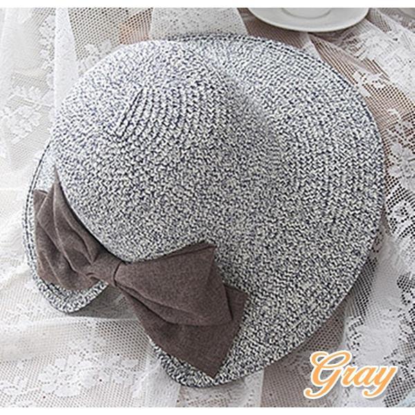 【SALE】麦わら帽子 ハット 折りたたみ 帽子 ストローハット UVカット レディース flexgear 04