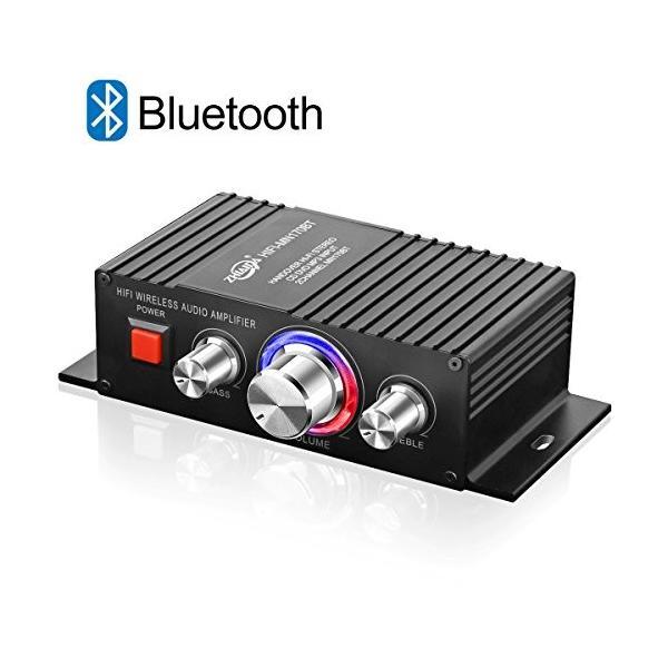 Bluetooth パワーアンプ TTMOW 高音質 高出力 Bluetooth対応 オーディオアンプ 重低音 Hi-Fiステレオデジタルアンプ 30
