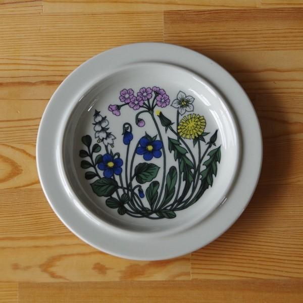 アラビア フローラ 20cm デザートプレート ケーキ皿 ARABIA Flora #180828-3|flohmarkt