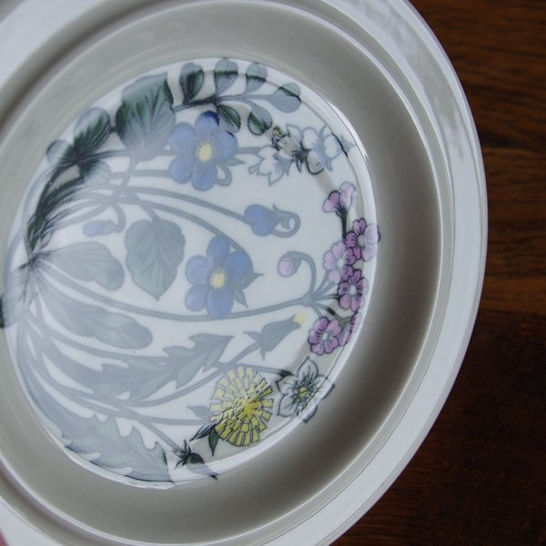 アラビア フローラ 20cm デザートプレート ケーキ皿 ARABIA Flora #180828-3|flohmarkt|03