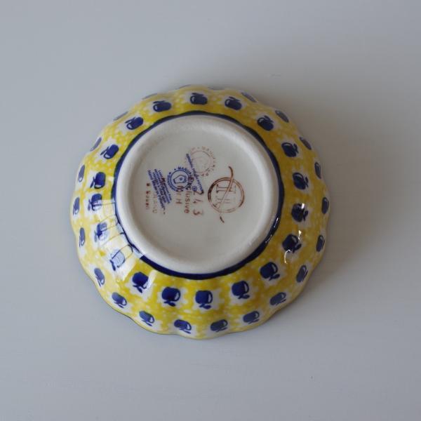 ポーランド食器 ポーリッシュポタリー ミニボウル 小鉢 12cm りんご柄 M94-ALC26 flohmarkt 04
