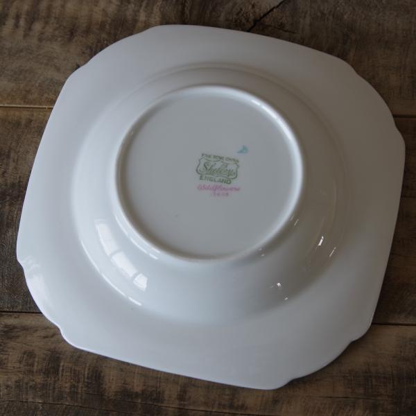 アンティーク食器 SHELLEY シェリー ワイルドフラワーズ スーププレート 深皿 17cm #190705-1~6|flohmarkt|04