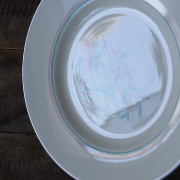 アンティーク 食器 陶器 スージークーパー ドレスデンスプレー デザートプレート 23cm ケーキ皿 #191010-7|flohmarkt|04
