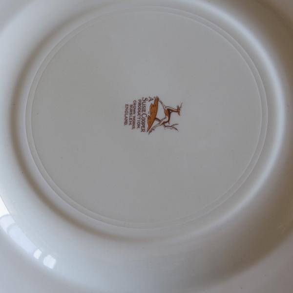 アンティーク 食器 陶器 スージークーパー ドレスデンスプレー デザートプレート 23cm ケーキ皿 #191010-7|flohmarkt|05