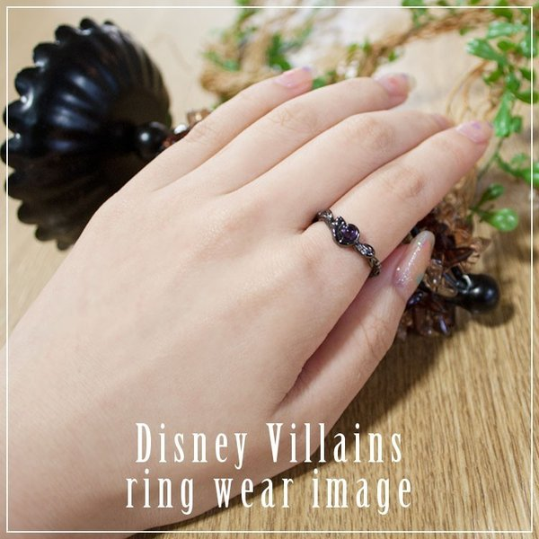 ディズニー 指輪 Disney ヴィランズ VILLAINS アースラ リトルマーメイド / シルバー ジュエリー アクセサリー レディース リング disney_y|flora-de-stt|03