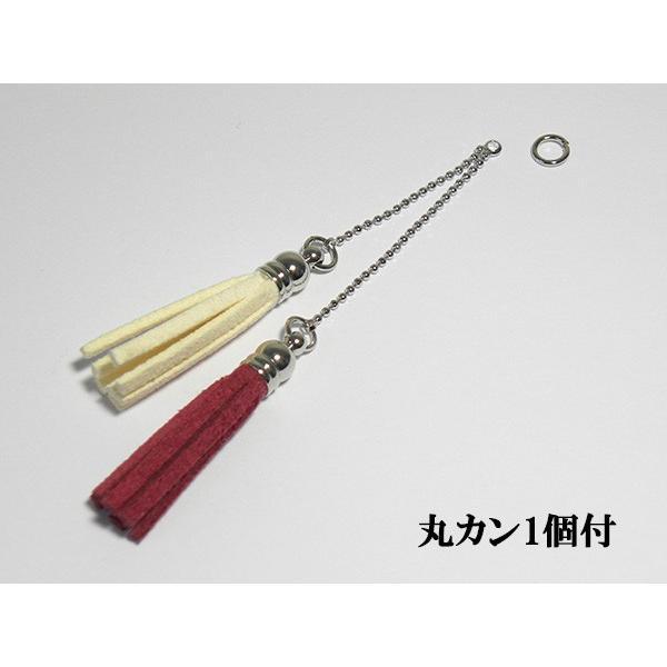房チャーム ( ローズ&ホワイト ) fusa-charm-004