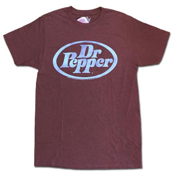 メール便可 Tee Luv ティーラヴ Tシャツ DR.PEPPER RED LOGO TEE レッド ドクターペッパー プリントT カットソー 半袖 30508