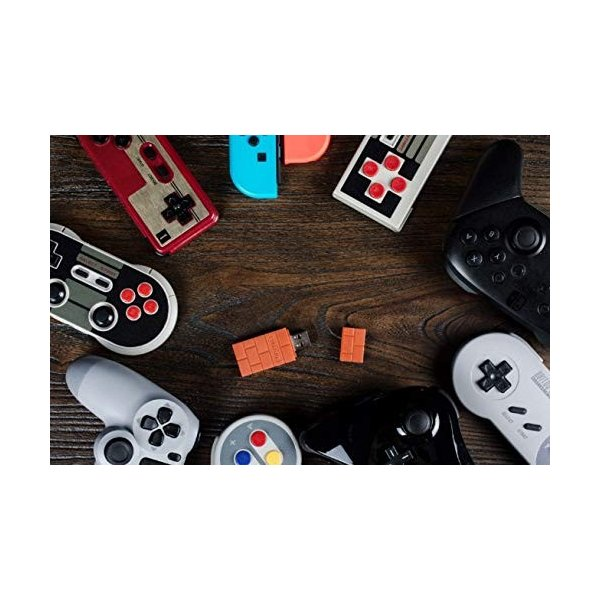 8Bitdo ワイヤレス Bluetooth アダプタ Nintendo Switch Windows Mac Raspberry Pi USBワイヤ|flow1|04