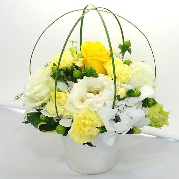 ペット お供え 花  お悔やみ ペット 花 アレンジメント メモリアルアレンジメント 翌日配達|flower|02