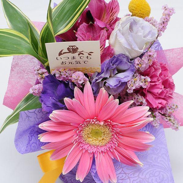 花 ギフト プレゼント 数量限定 花束 ブーケ そのまま飾れるブーケ プチスイーツセット flower 02