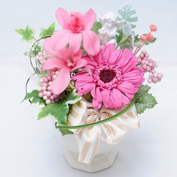 枯れない花 ギフト  プレゼント 贈り物 花 枯れ ない プリザーブドフラワー エリーゼ お祝い 花 おしゃれ|flower|02