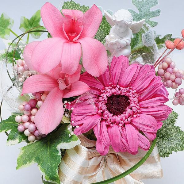 枯れない花 ギフト  プレゼント 贈り物 花 枯れ ない プリザーブドフラワー エリーゼ お祝い 花 おしゃれ|flower|03