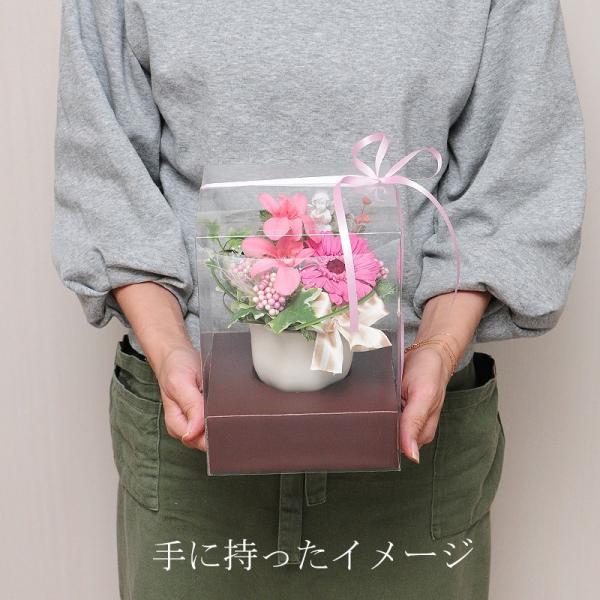 枯れない花 ギフト  プレゼント 贈り物 花 枯れ ない プリザーブドフラワー エリーゼ お祝い 花 おしゃれ|flower|04