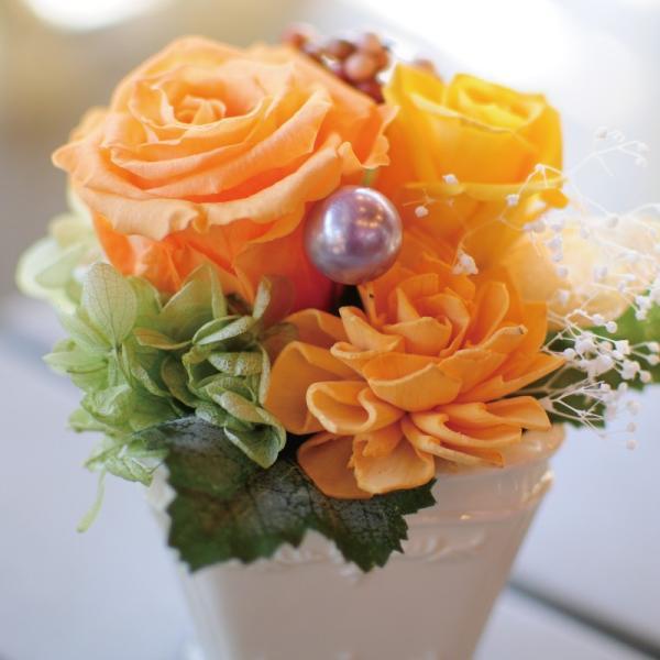 枯れない花 ギフト  プリザーブドフラワー プレゼント 贈り物 花 枯れ ない お祝い 花 おしゃれ パステルカラーのプリザ 花贈る バラ  誕生日  お祝い|flower|03