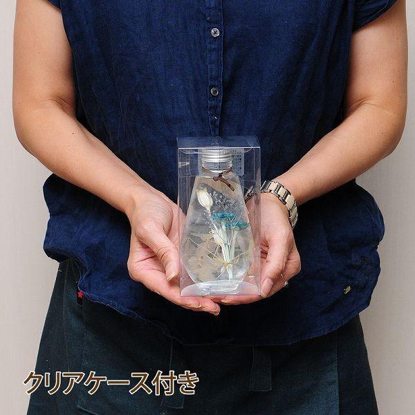 誕生日 花 ギフト ハーバリウム 記念日 ハーバリューム お祝い プレゼント 電球型 クリアケース入り|flower|05