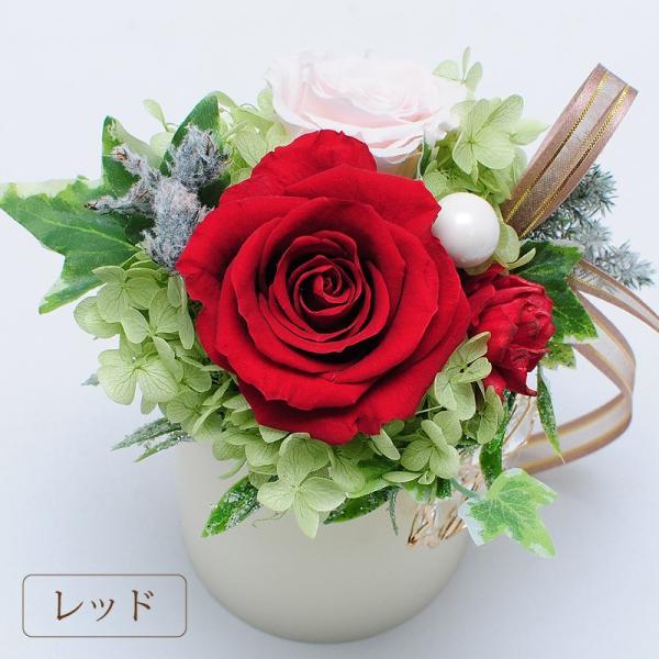 枯れない花 ギフト  プレゼント 花 枯れ ない プリザーブドフラワー ライトローズ ホワイトデー 記念日|flower|03