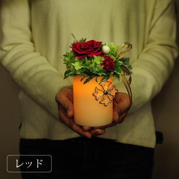 枯れない花 ギフト  プレゼント 花 枯れ ない プリザーブドフラワー ライトローズ ホワイトデー 記念日|flower|07