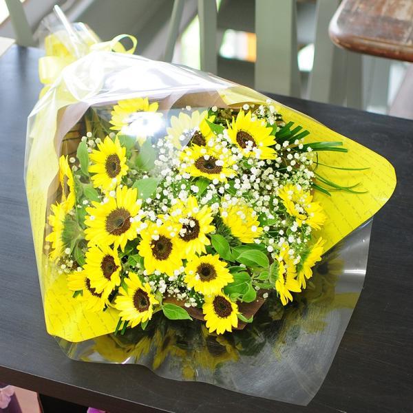 花 ギフト ひまわりの花束  ヒマワリ 向日葵 2Lサイズ flower 05