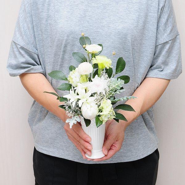 供花 お供え花 お悔やみ プリザーブドフラワー 天 仏花 お盆 花|flower|05