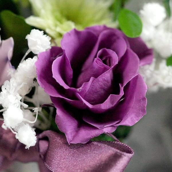 お線香セット 紫メインツイン仏花(BS-001)|flowerdirl|03