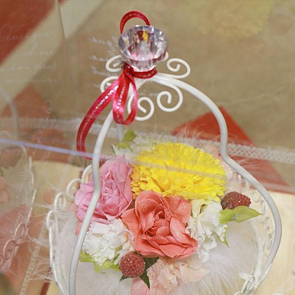 花ベース<ピンクパフューム>(S-033)|flowerdirl|02