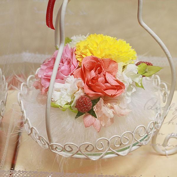 花ベース<ピンクパフューム>(S-033)|flowerdirl|03