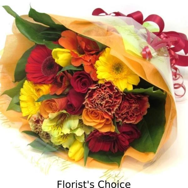花束 送料無料 ラウンドブーケ 季節のお花たっぷり花束、お誕生日、ギフト、発表会、プレゼント、宅配|flowerexpress-com|02