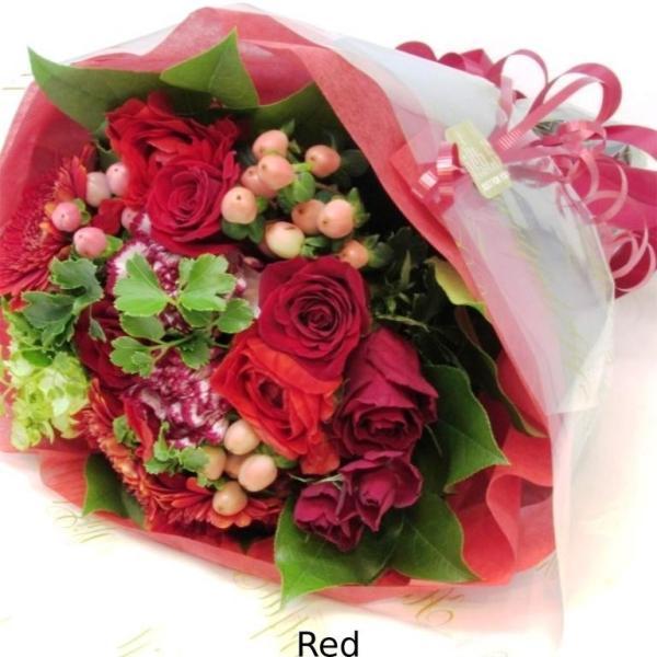 花束 送料無料 ラウンドブーケ 季節のお花たっぷり花束、お誕生日、ギフト、発表会、プレゼント、宅配|flowerexpress-com|11